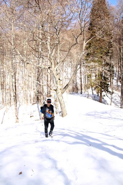 鷹狩山 冬登山