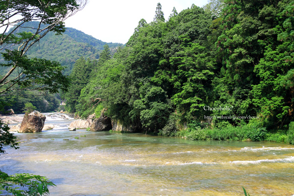 湯谷温泉 川