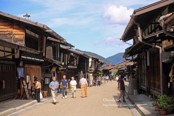 古い町並み 奈良井宿