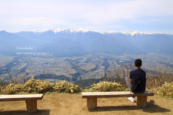 陣馬形山 中央アルプス