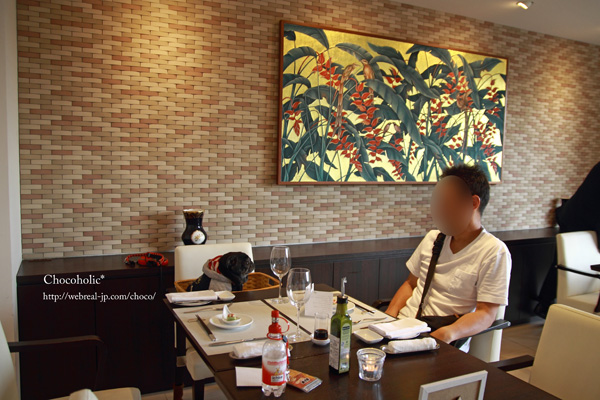 レストランの夕食 ホテル凛香