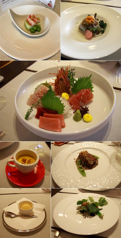 ホテル凛香 夕食