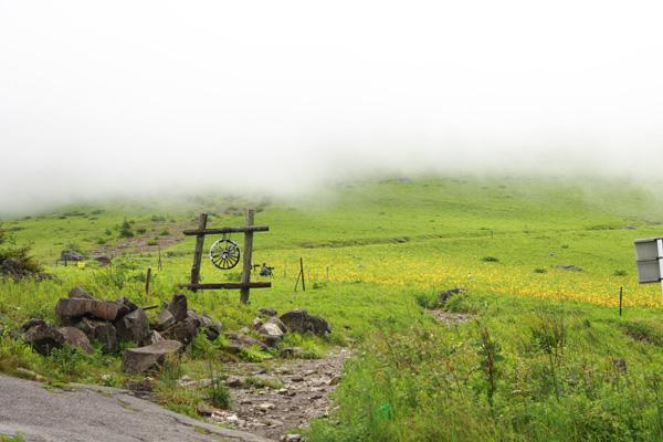 車山高原 曇天
