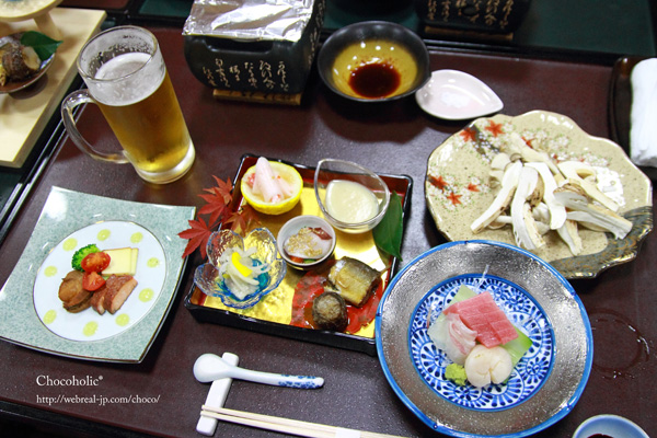 孫八 松茸コース