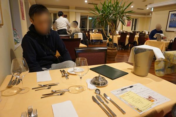 ディナー ホテルそよかぜ