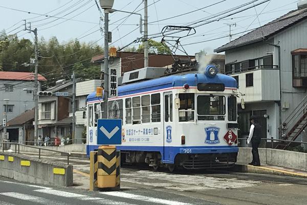 路面電車 高知市内