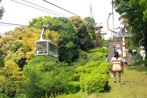 松山城 リフト