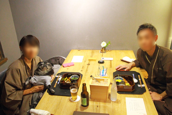 一壷天 夕食