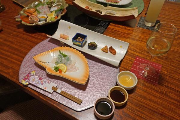 鷹勝 夕食 前菜