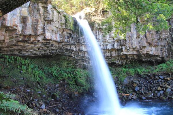 萬城の滝 伊豆 ジオパーク