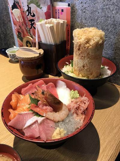 丸天 沼津 海鮮丼